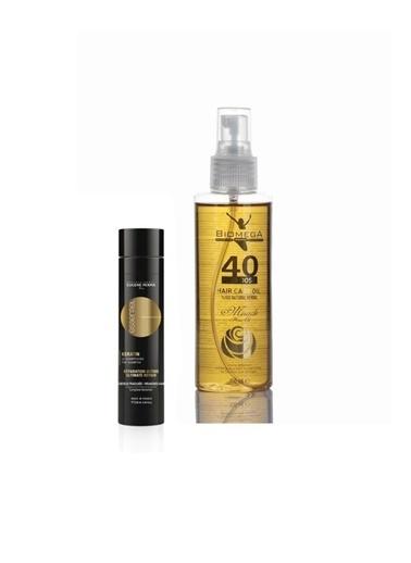Eugene Perma Eugene Perma Essentiel Keratin Şampuan 250 Ml+Biomega 40 Bitkili Doğal Saç Bakım Yağı 150 Ml Renksiz